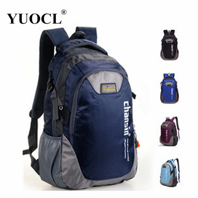 YUOCL fashion casual double-shoulder travel backpack for women school bags for teenagers printing men backpack sac a dos