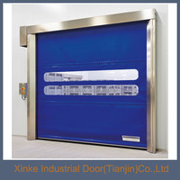 Auto fabric pvc high speed industrial rolling door food industry used HSD-044
