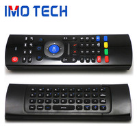 Shenzhen IMO MX3 Fly Air Mouse 3-IN-1 Combo 2.4GHz Wireless Keyboard Can OEM Logo On Air Mouse And Packaging