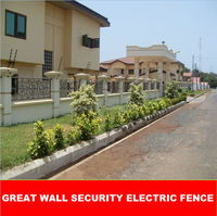 solar powered perimeter security electric fence energiser electric fence charger