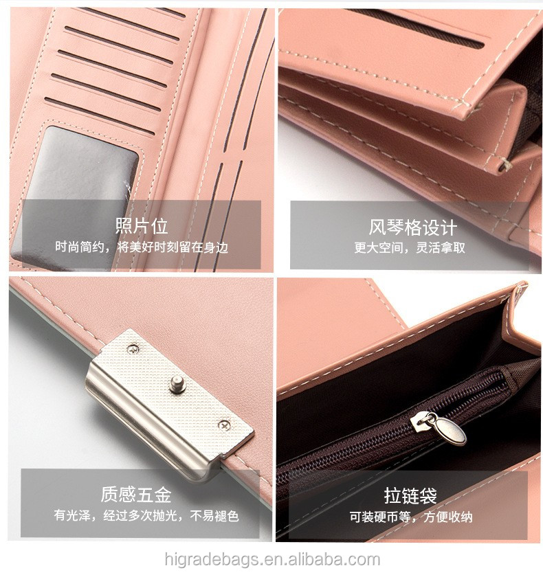 New arrival Lady Wallet, Fashion Wholesale Woman Wallet
