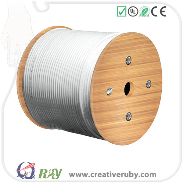 Cost Price 100% Pure Copper 0.56mm 23AWG OD 305m UTP Spool Packing Roll, Network Cable Cat6