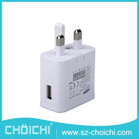 Hot selling wholesale mini single usb wall charger for EP-TA10UWE samsung