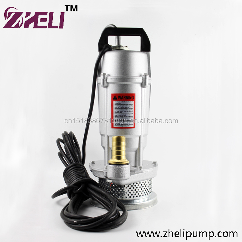 QDX Good Performance Best Price Pump QDX Series 0.5HP Submersible Pumps