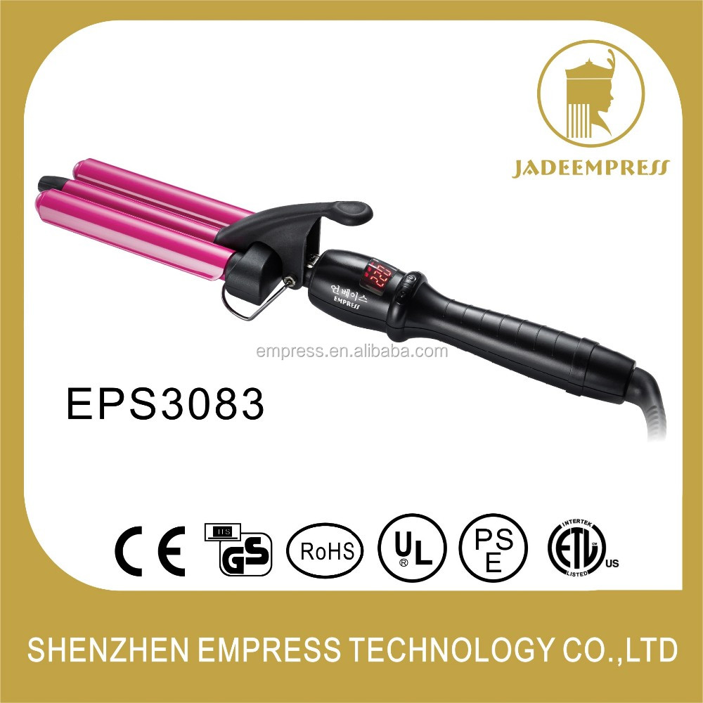 Hot Selling Digital 220C Professional Wave Hair Curling Pro Curling Irons EPS3083 EPS3183