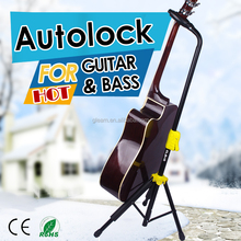 Online music instrument accessories item metal guitar stand