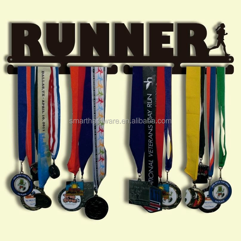 Runner medal hanger Iron medal holder