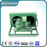 JZBF Semi-hermetic Open Type Condensing Units Saving Energy Conditioning Air Cooled Condensing Unit
