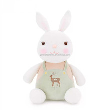 7 inches high quality customized production super cute white rabbit soft toy <strong>plush</strong> toy