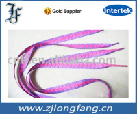 screen-printing shoelace fashion design flat shoelace