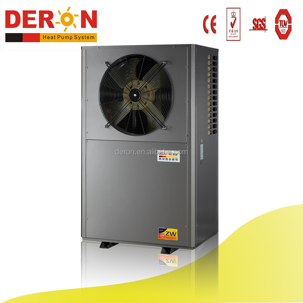 80 degree hot water air to water heat pump water heater for factory heating with <strong>R134A</strong>