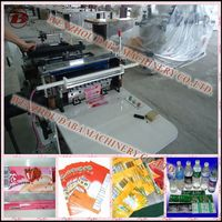 Sewing Shrink Label Cutting and Rewinding Machine