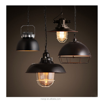 American industrial style retro metal pendant light