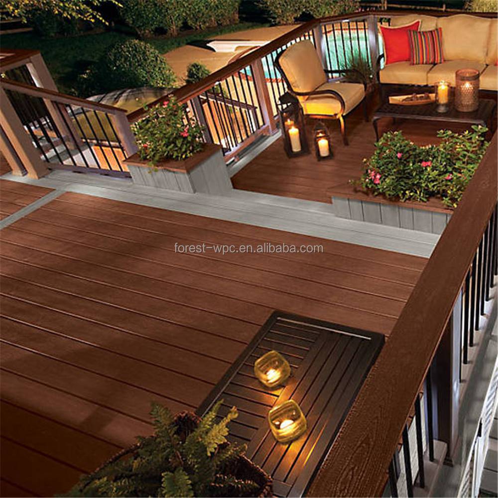 wpc garden composite wood outdoor laminate wood flooring hardwood mosaic edging thermal modified wood laminate hardwood flooring