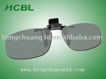 Disposable Clip On 3D Glasses 3d sunglasses