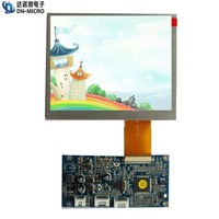lower price quality assured color TFT LCD module / 5.6 inch LCD touchscreen module for car display