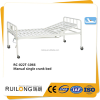 Hot one function metal frame tube bed made in China