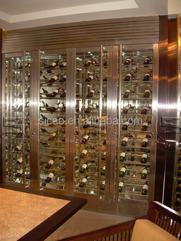 Customized per client 1085L Wine Bottle Cellar Display Showcase Fridge