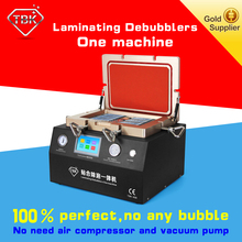 2016 TBK factory Automatic Bubble Remover And Laminating Machine+Cell Phone Screen Referbishing+lcd panel repair machine