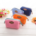 Korea Multifunctional fashion cotton makeup bag portable cute travel cotton wash steel frame makeup Bag cosmetic