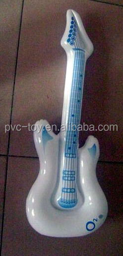attractive fashional guitar inflatbale model toys
