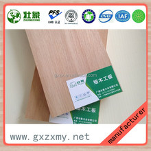 high quality low price hot sell Laminated melamine coveredblockboard ecological panel wooden face block