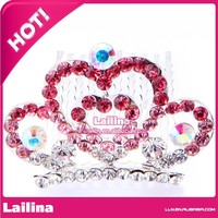 Hot sale frozen princess elsa tiara crown and wand with fashion style for carnival party