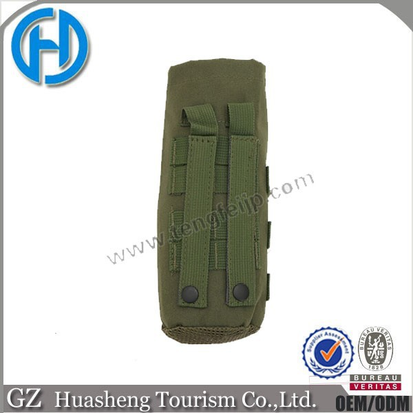 Army green molle water pouch survival gear wholesale