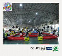 kids toy cars race track , race track with rc car , inflatable race track