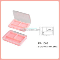 PA-1008(P) Pink eyeshadow palette with crystal cover wholesale eyeshadow case