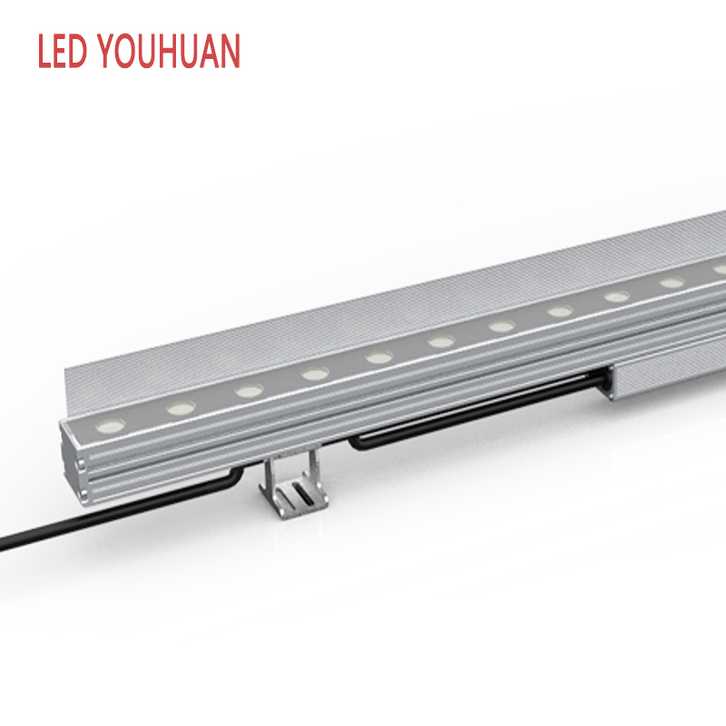 Only see the lamplight without light LED Linear Wall Washer for building facade