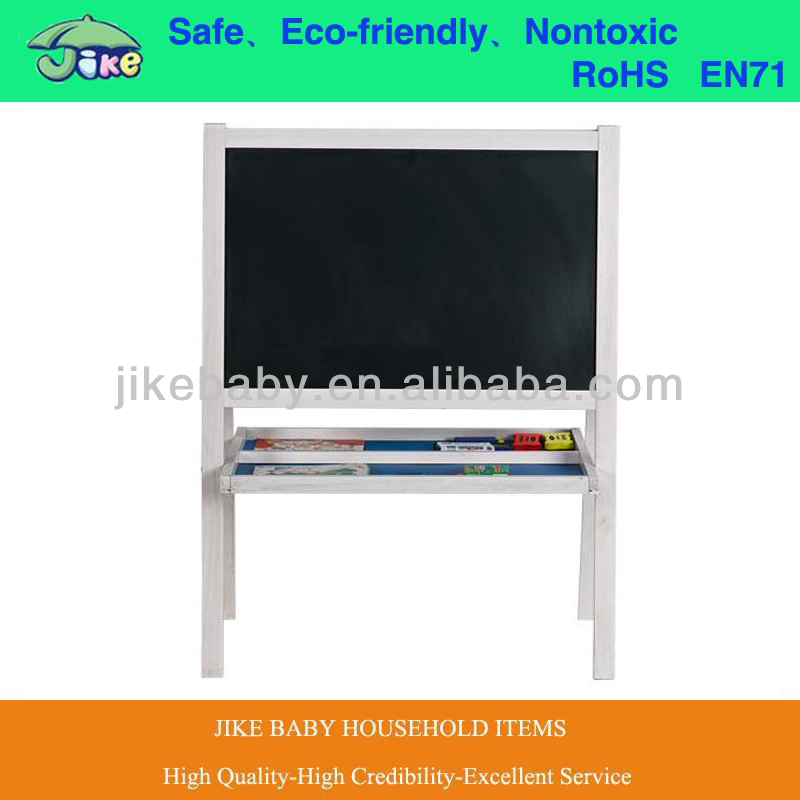 72*45*113cm kids blackboard easel whiteboard with stand for kids