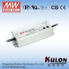 Dimmable MeanWell HLG-60H-36 metal case 60w 36v IP67 led driver