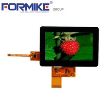 Landscape 480x272 pixels G+G CTP type 4.3 inch capacitive touch screen with I2C interface