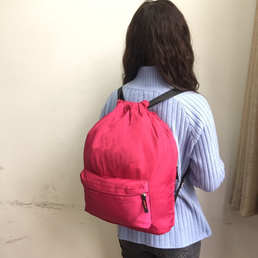 2019 Fashion Lifestyle Travel Bag Causal Student Girls Special Straw Backpack with Physiological Curve Back