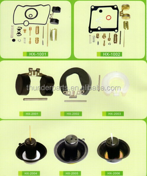 Motorcycle carburetor repair kit,parts for 50cc,100cc,125cc,150cc scooter,Gy6 scooter,Kymco Scooter