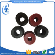 Customized round anti-slip anti vibration furniture rubber feet for table