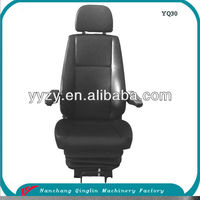 Luxury Auto Bus Driver Air Suspension Seat with PVC High Back China Factory