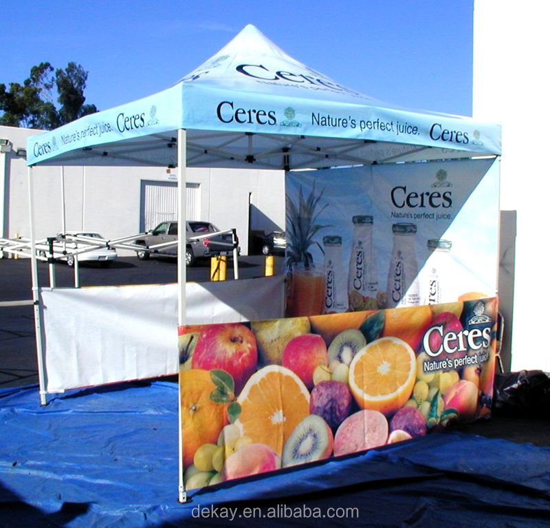 10x10 pop up canopy tent/quick folding trade show tent
