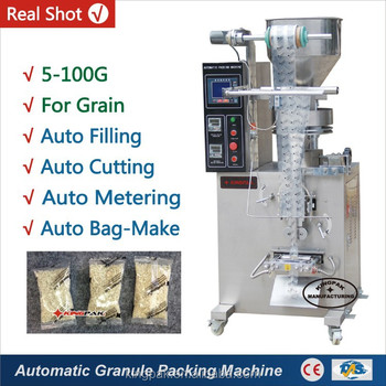 HP100G Automatic Vertical Food Grain Packing Machine
