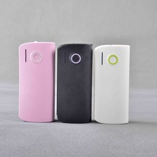 moblie Best quality new style slim candy power bank 5200mAh