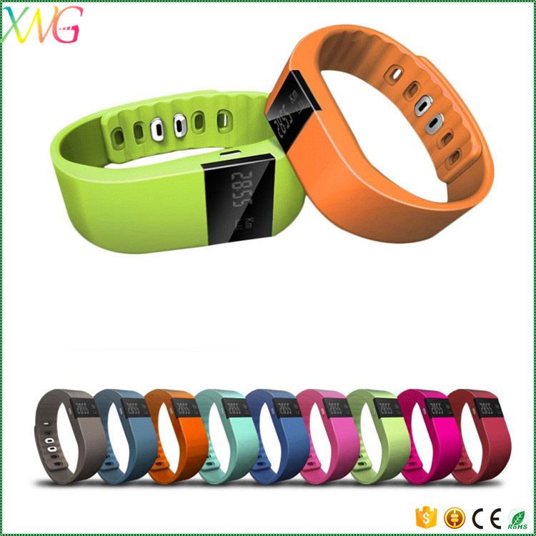 OLED Touch Screen bluetooth 4.0 tw64 sport watch smart bracelet with ce rohs
