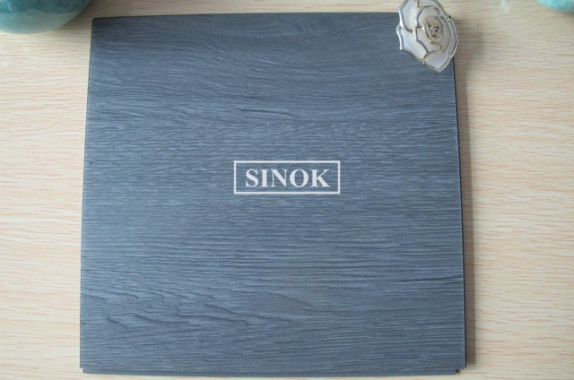 glue coating Commercial Luxury Vinyl Planks Tile pvc Plastic Floor Covering wood Embossed flooring