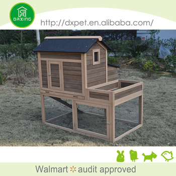 DXH029 large size easy clean chicken coops runs