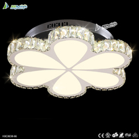 Fassion and Modern surface mounted led crystal ceiling light,light fixture of ceiling for style#HXC8038-66