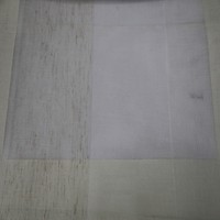 Fancy polyester/cotton jacquard tulle voile curtain fabric for sheer panel