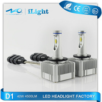 new technology high power 40W 4500lm motor parts accessories led headlight kits for bmw