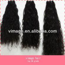 vimage hot selling ding unprocessed curly intact virgin peruvian hair