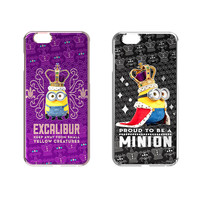 Minions cell phone case for iphone6/6s/6plus/6s plus with shinning diamondd