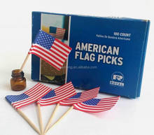 hot sale high quality wooden flag stick